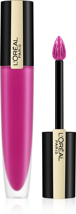 L'Oréal Paris Rouge Signature Lippenstift  - 106 I Speak Up - Roze - Matte Vloeibare Lipstick