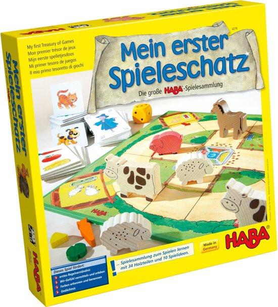 Afbeelding van het spel Spiel - Mein erster Spieleschatz - Die grosse HABA-Spielesammlung (Duits) = Frans 4686 - Nederlands 4687