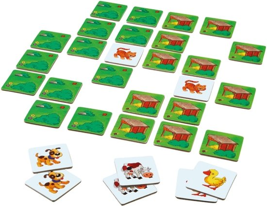 Haba Spellendoos Spelletjes vanaf 3 jaar 10 spellen in 1 doos