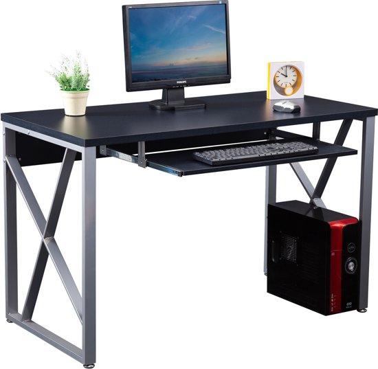 piranha beluga bureau antraciet zwart toetsenbordhouder compact pc 13g. Black Bedroom Furniture Sets. Home Design Ideas