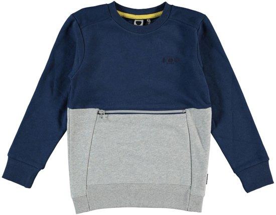 Tumble 'N Dry Jongens Trui Macklin -  deep blue  -  maat 110