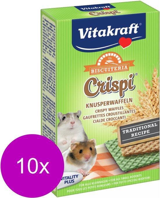 Vitakraft Knaagwafels Hamster - Knaagdiersnack - 10 x 10 g