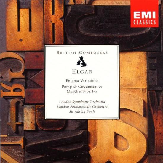 British Composers Series - Elgar: Enigma Variations, etc