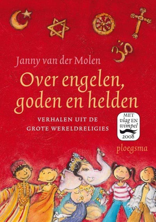 Cover van het boek 'Over engelen, goden en helden / druk 1'