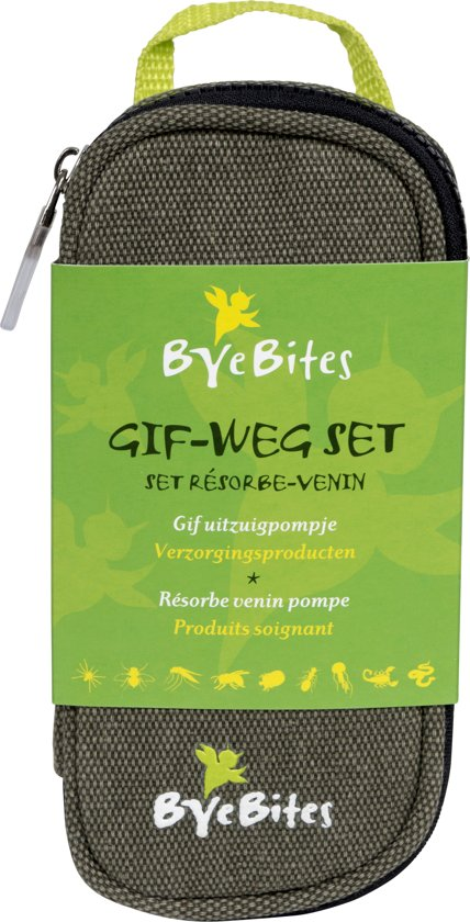 Byebites Uitzuigset - Gif-weg - 11-delig