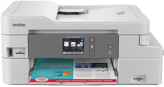 Brother DCP-1100DW - All-In-One Box Inktjet Printer