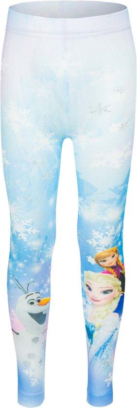Frozen legging|kleur blauw Mt 92-98
