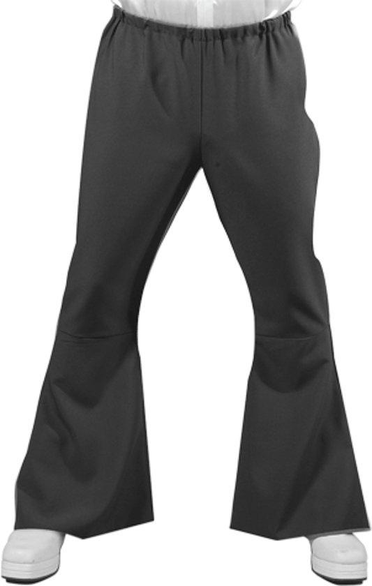 Heren Hippie broek zwart 56-58 (l)