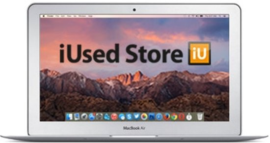 iUsed Refurbised (MD711/B) MacBook Air - 11.6 inch - Intel DualCore i5 1,4 GHz - Early 2014