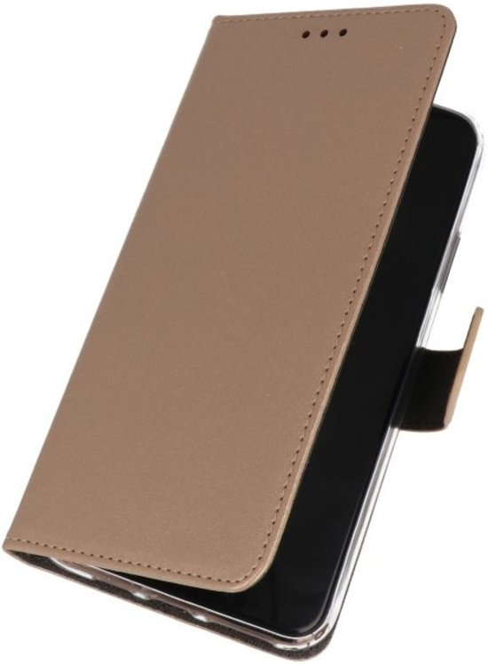 BestCases - Wallet Cases Hoesje Samsung Galaxy A10s Goud