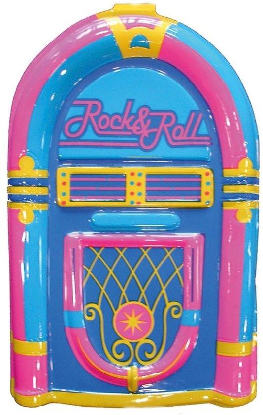 Plastic wanddecoratie jukebox