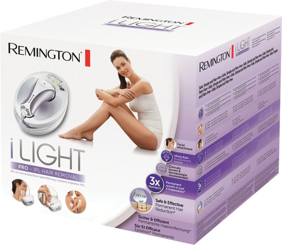 Remington IPL6500 i-Light Pro Lichtontharing