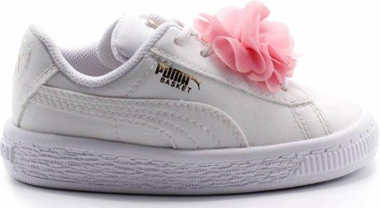 8fe15e704f3 bol.com | Basket Flower AC Inf / Puma White-Pale Pink - maat 24
