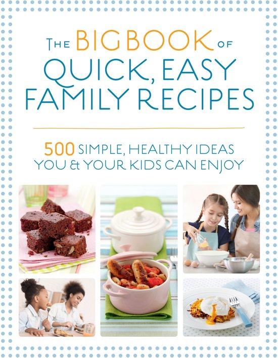 Boek cover The Big Book of Quick, Easy Family Recipes van Kirsten Hartvig (Onbekend)