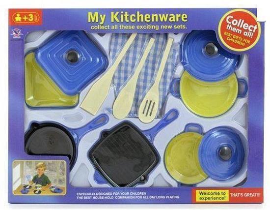 Keuken Voor Kinderen : Bol plastic keuken set voor kinderen fun feest party