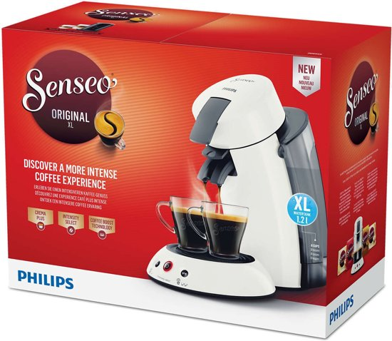 Philips Senseo Original XL HD6555/10 Wit