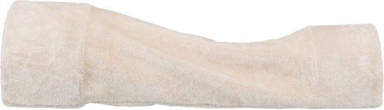Trixie Relax-Tunnel voor Konijnen/Cavia's, pluche, 27 × 21 × 80 cm, beige