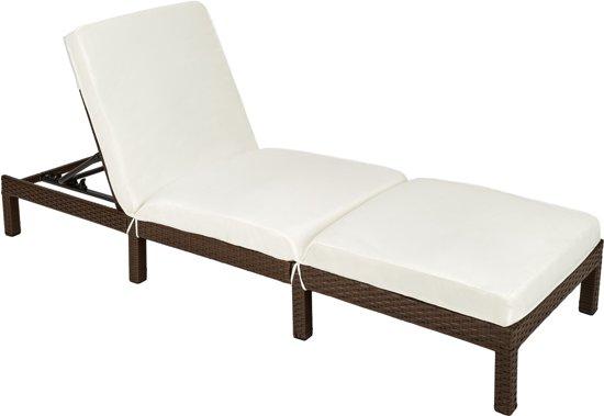 Ligstoel Voor Tuin : Bol tectake wicker ligstoel bruin ligbed voor tuin