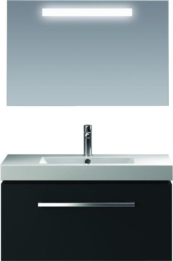 bol.com | Bruynzeel Solid badmeubelset 90 cm antraciet