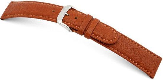 Rios1931 Horlogeband -  Texas Cognac - Leer - 12 mm