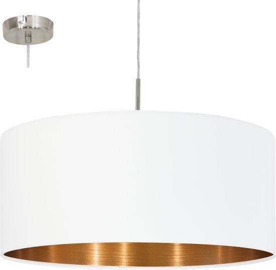 Voorkeur bol.com   EGLO Pasteri - Hanglamp - 1 Lichts - ø530 mm. Nikkel-Mat GN43