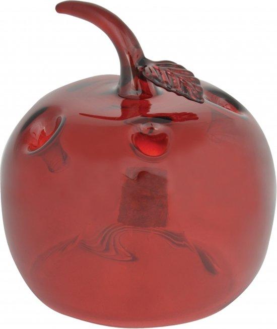 Fruitvliegjesval rode appel 9,5 cm - fruitvliegjes vanger