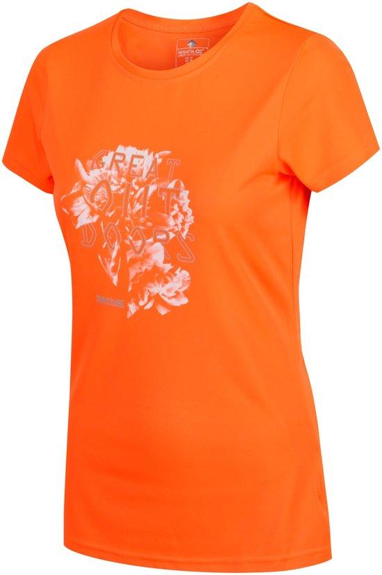 Regatta-Wmns Fingal IV-Outdoorshirt-Vrouwen-MAAT XS-Oranje