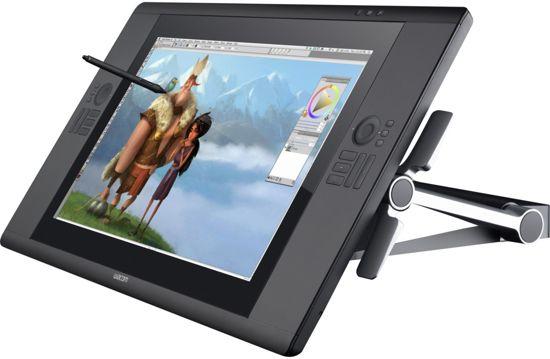 Wacom Cintiq 24HD - Touch Pen Scherm