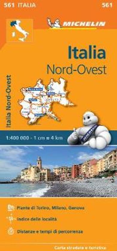 Italy Northwest - Michelin Regional Map 561