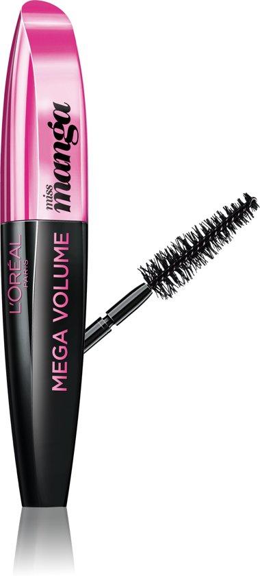 54570dca04a L'Oréal Paris Make-Up Designer Mega Volume Miss Manga Black wimpermascara  ...