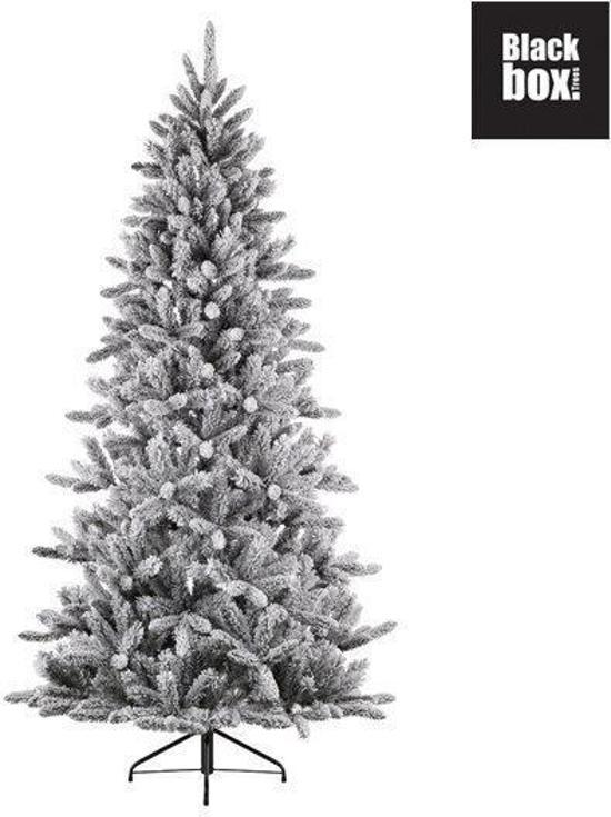 bol.com | Black Box - Kunstkerstboom HALF WALL SNOWDON PINEH185D117 ...