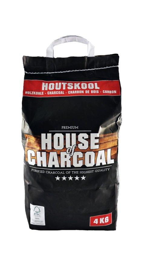 House of Charcoal 100% FSC Premium Houtskool - 4kg - FSC
