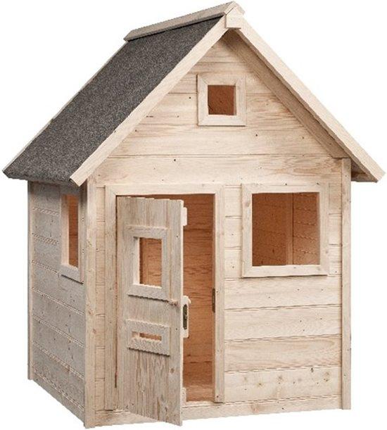 Swing King speelhuis Brett 140x155x180cm - Onbehandeld hout FSC hout
