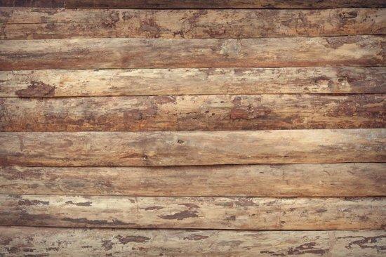 Behang Met Patroon : Bol houtlook behang het patroon van ongelijke houten