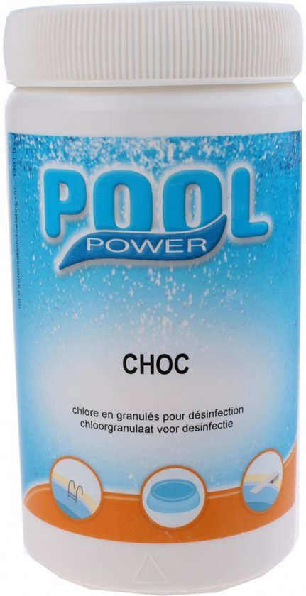 Pool Power Desinfectiemiddel Shock Choc 63/g 1 Kg