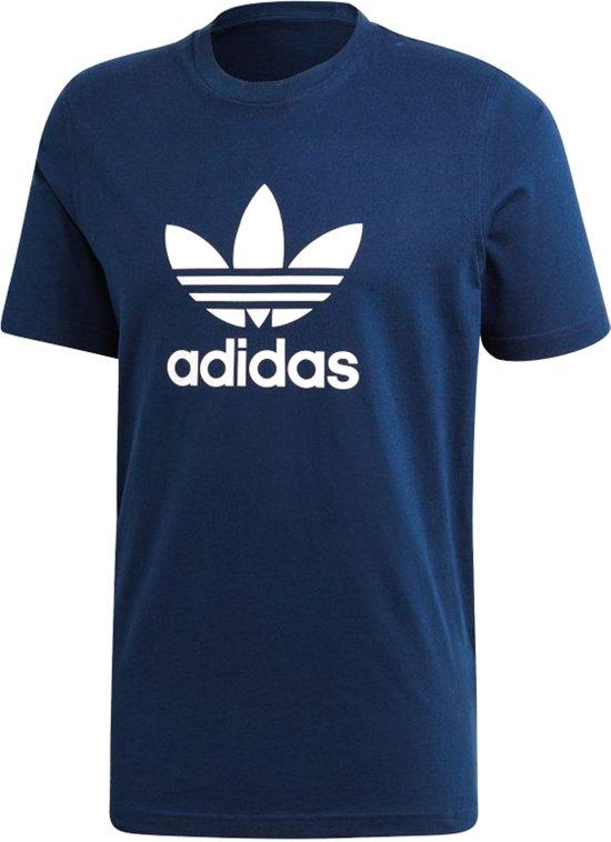 adidas Originals Trefoil T Shirt Heren Collegiate Navy Maat M