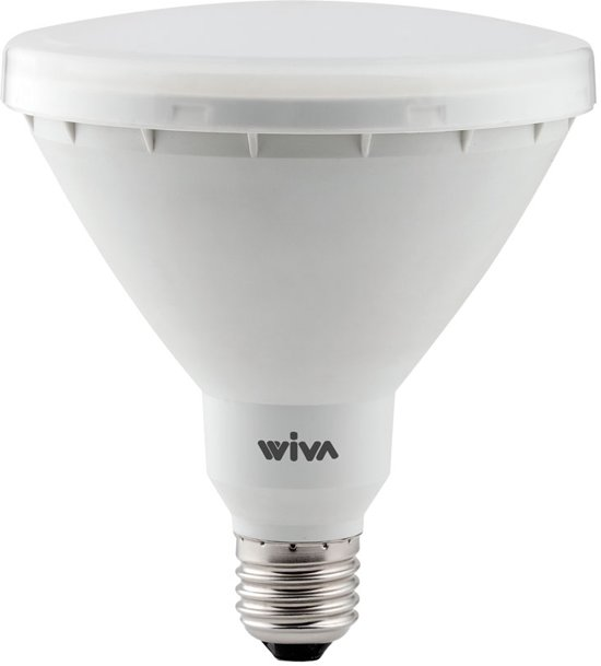 bol.com   Wiva E27 PAR38 LED Spot 15W=80W Wit 6000K 230VAC 100° IP44 ...