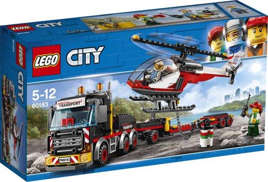 Afbeelding van LEGO City Zware-vrachttransporteerder - 60183 speelgoed