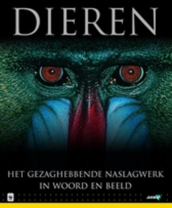 Boek cover Dieren van Onbekend (Hardcover)