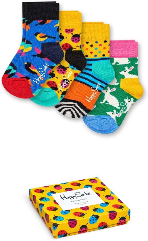 Happy Socks Kids Ladybug Sokken Giftbox - Maat 0-12M