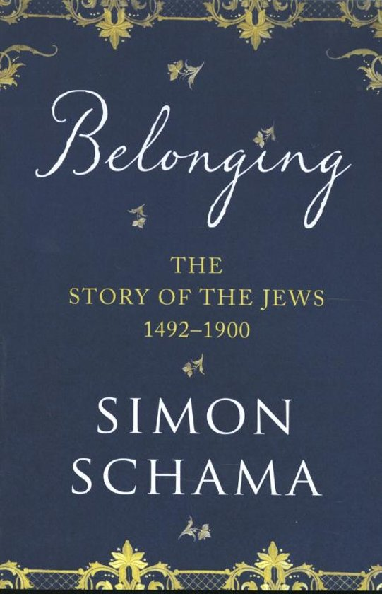 Boek cover Story of the Jews van Simon Schama (Onbekend)