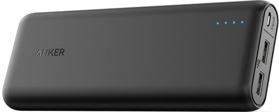 Anker PowerCore Powerbank 20100mAh - Zwart