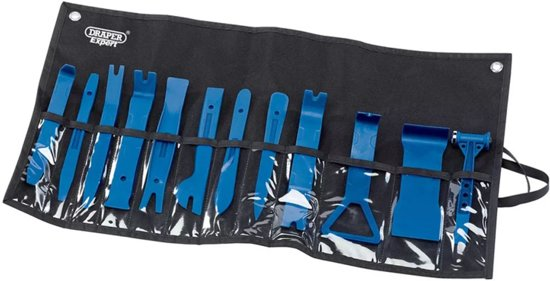 Draper Tools Expert Bekleding verwijderset 12-delig blauw 22492