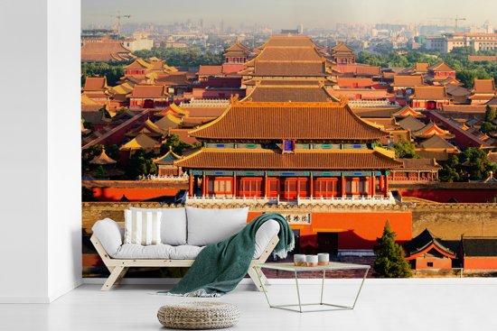 Fotobehang vinyl - De verboden stad van Jingshan Park breedte 600 cm x hoogte 400 cm - Foto print op behang (in 7 formaten beschikbaar)