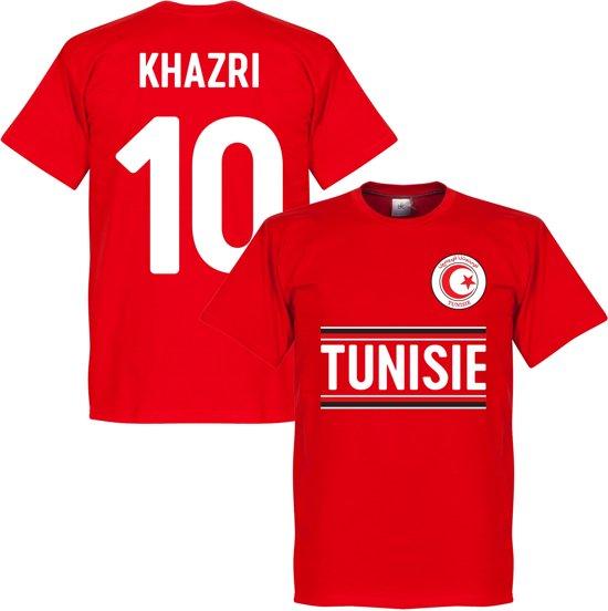 Tunesië Khazri 10 Team T-Shirt - XL