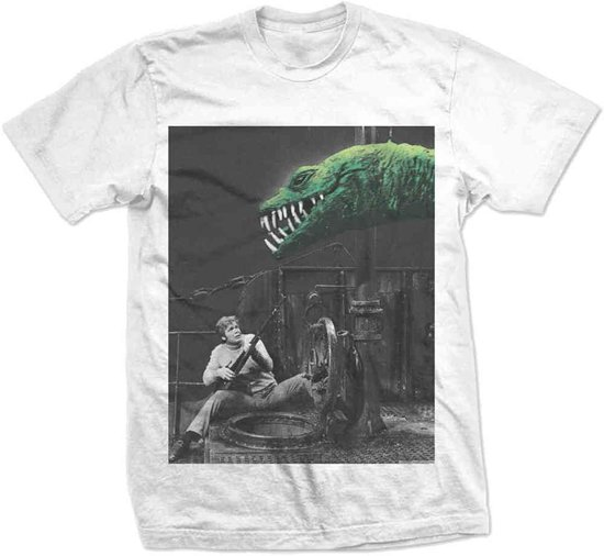StudioCanal - The Land That Time Forgot Dino Pops heren unisex T-shirt wit - L