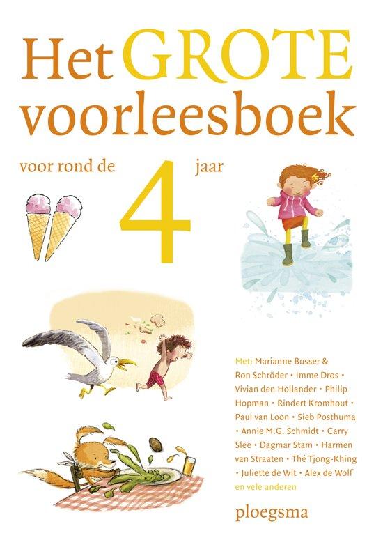 Boek cover Het grote voorleesboek voor rond de 4 jaar van Diverse auteurs (Hardcover)