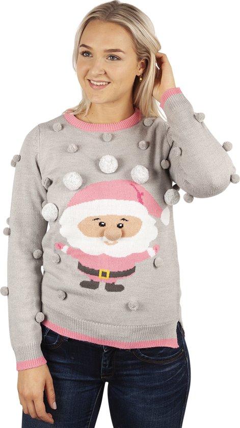 Kersttrui Kerstman.Bol Com Kersttrui Lieve Kerstman Met Ballen Maat M Speelgoed