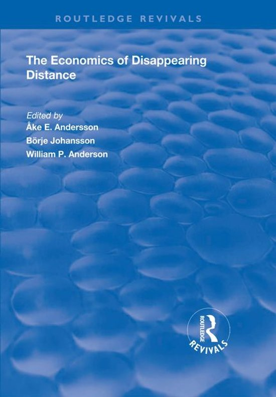 The Economics of Disappearing Distance