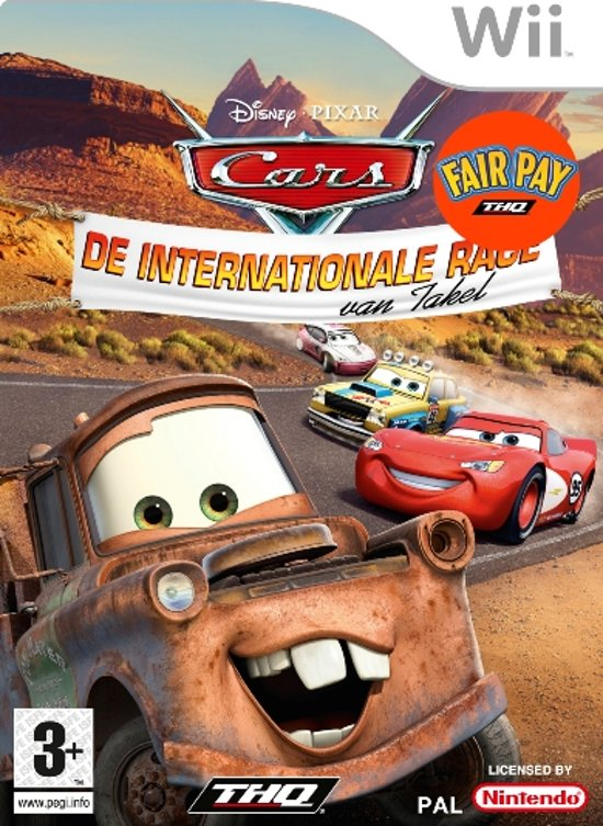 Cars - De Internationale Race van Takel kopen